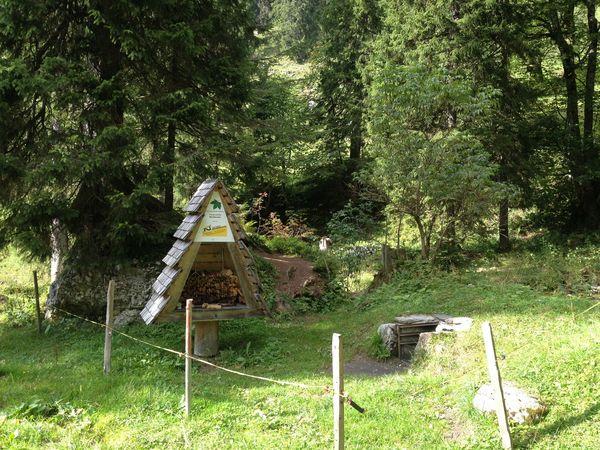 Bachboden barbecue spot, Beckenried
