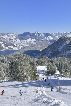 Wintersportgebiete