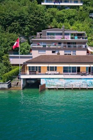 Holiday home Seestern at the lake with boat rental, Ennetbürgen