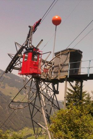 Cable car Grafenort - Brunniswald, Book your trip by telephone