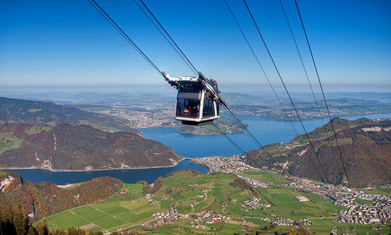 CabriO cable car, Stanserhorn