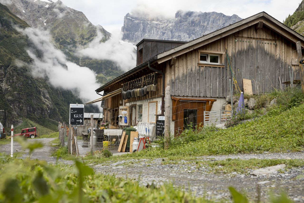 Alpkäserei Stäfeli