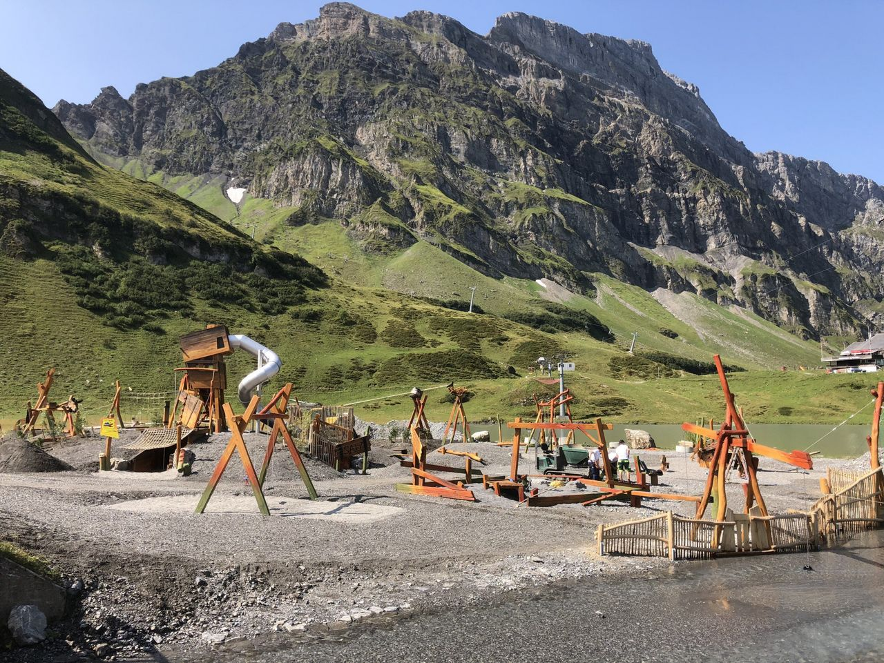 Playground Schmuggler at Trübsee