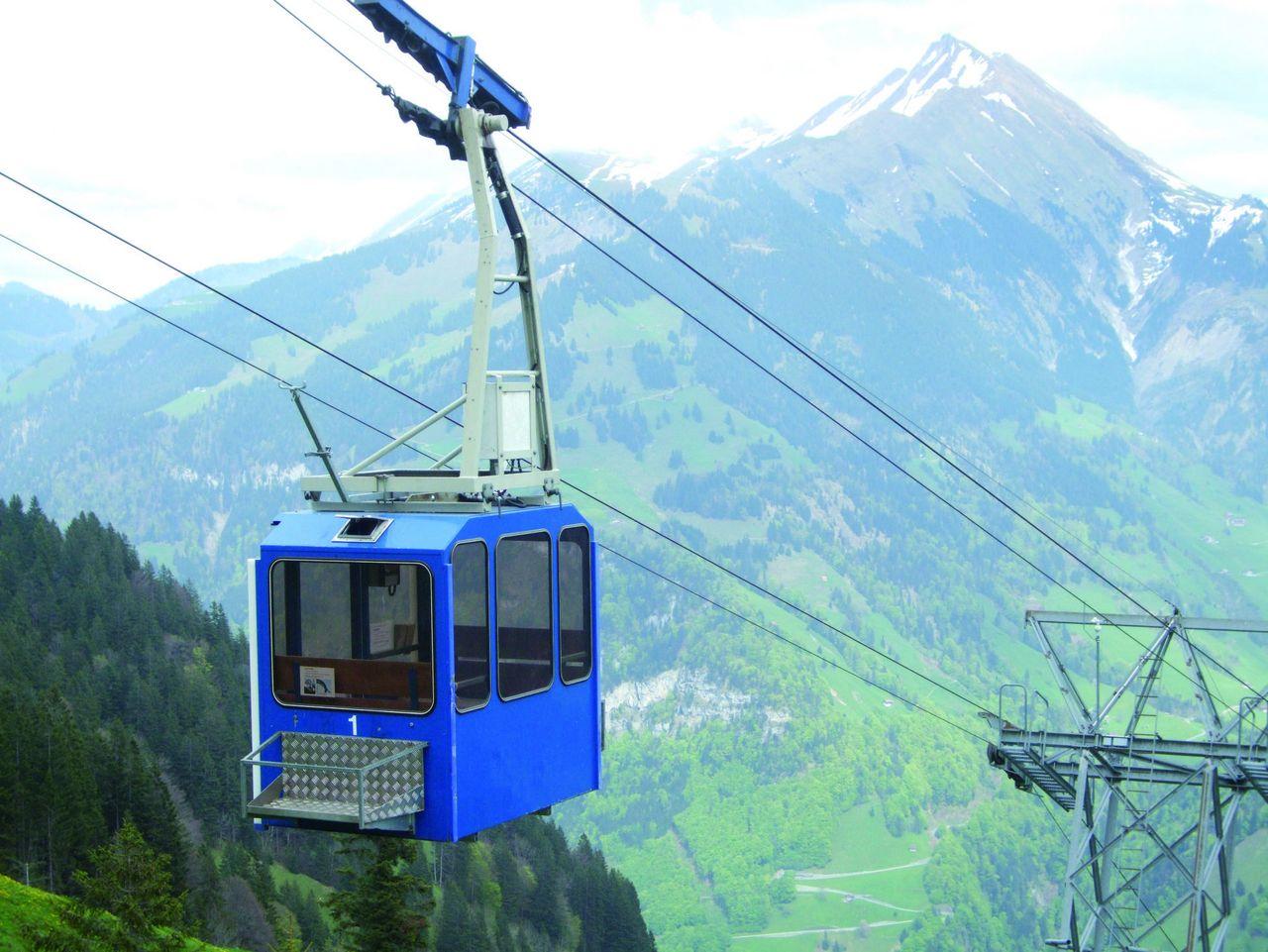 Luftseilbahn Diegisbalm - Oberalp