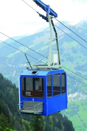 Cable car Diegisbalm - Oberalp