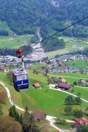 Cable car Dallenwil - Wiesenberg