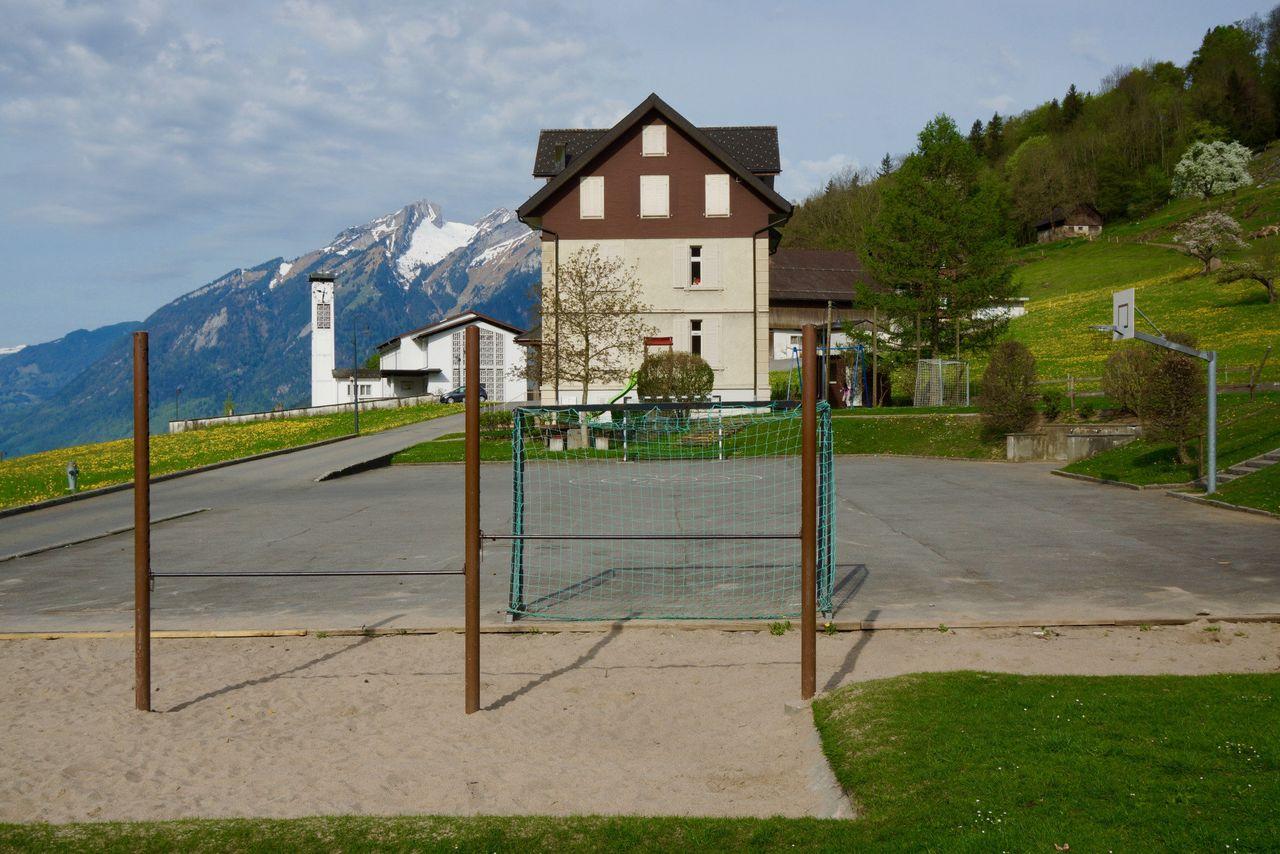 Spielplatz Schulhaus Obbürgen