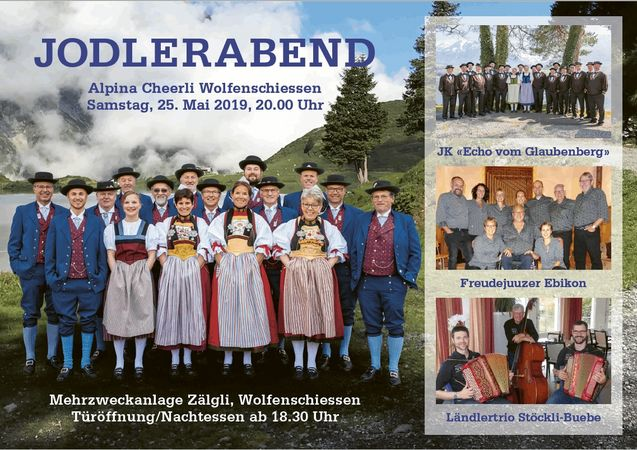 Alpina Cheerli Wolfenschiessen Jodlerabend