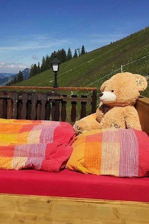 Alp Openair-Zimmer Ausflugs-Ski-Pistenhotel Klewenstock