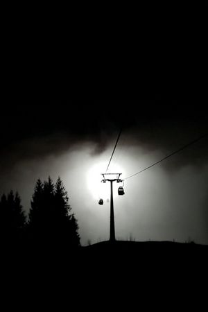 Night skiing & night sledging, Klewenalp