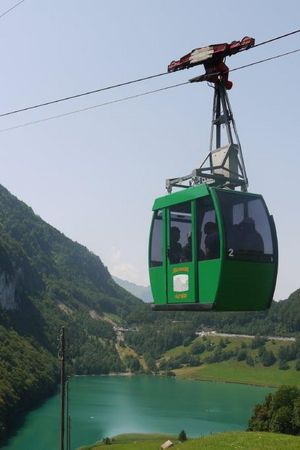 Cable car Seelisberg - Alp Weid