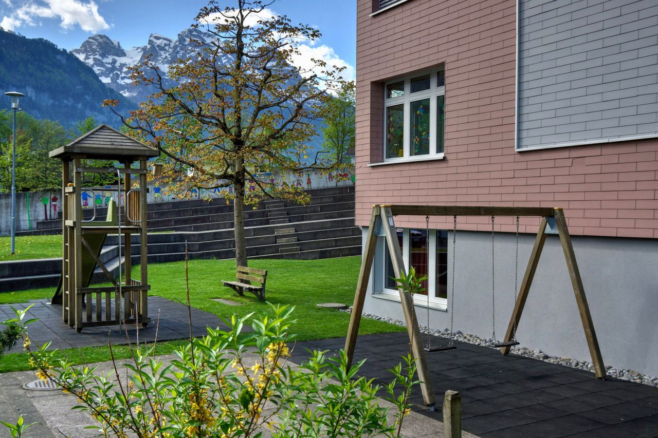 Spielplatz Schulhausspielplatz, Dallenwil