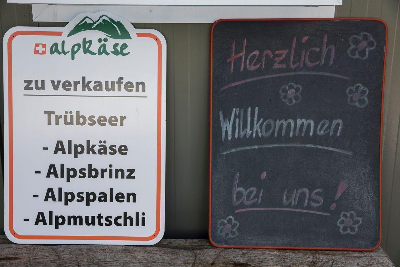 Alpkäserei Untertrübsee
