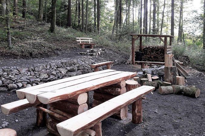 Ennetacher barbecue spot, Wolfenschiessen