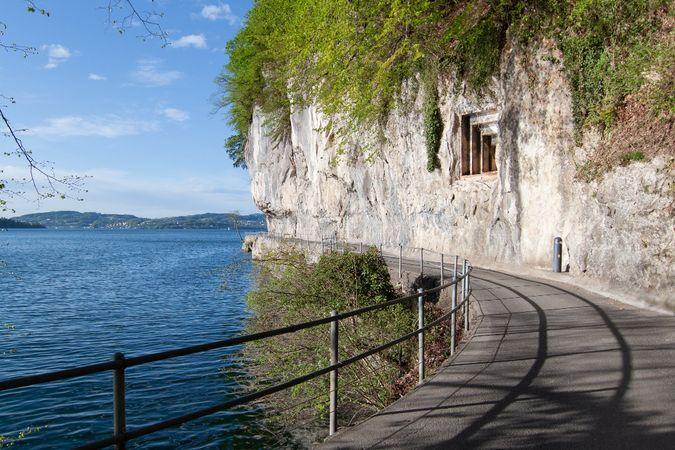 Vom See zum Resort