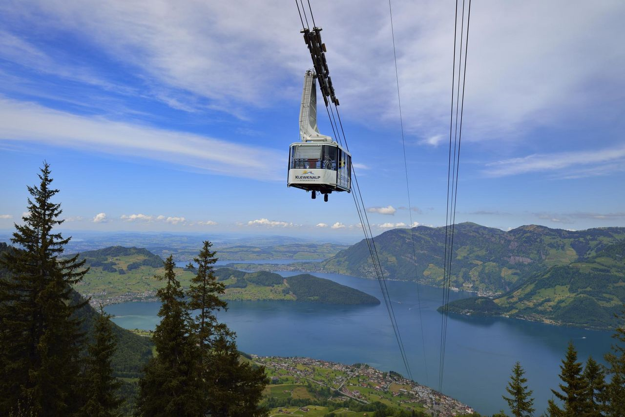 Cable car Beckenried - Klewenalp