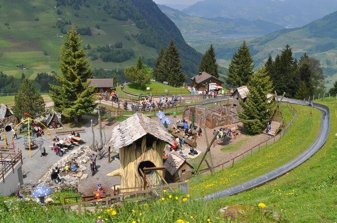 Feuerstelle Bergstation Wirzweli, Dallenwil