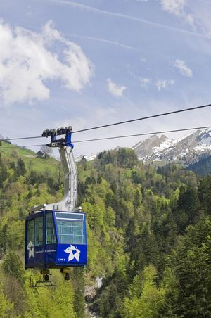 Cable car Dallenwil - Niederrickenbach