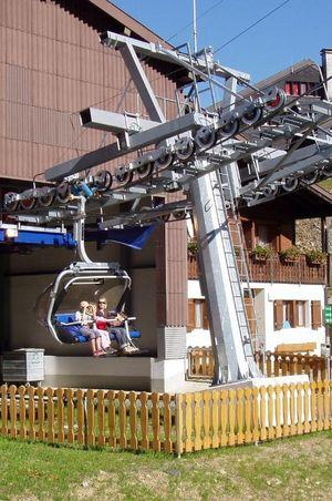 Chairlift Trübsee - Jochpass