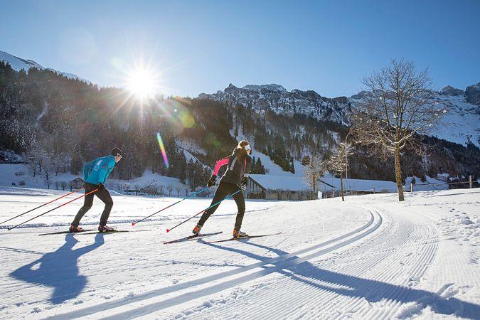 Sun track, Engelberg