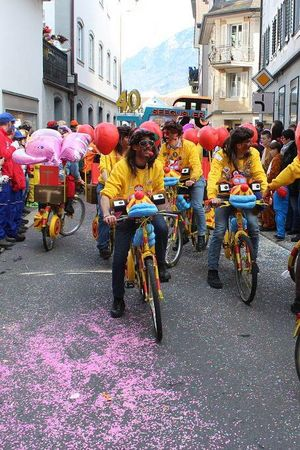 Carneval in Nidwalden