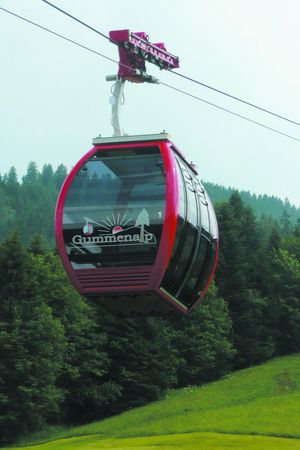 Cable car Eggwald - Gummenalp