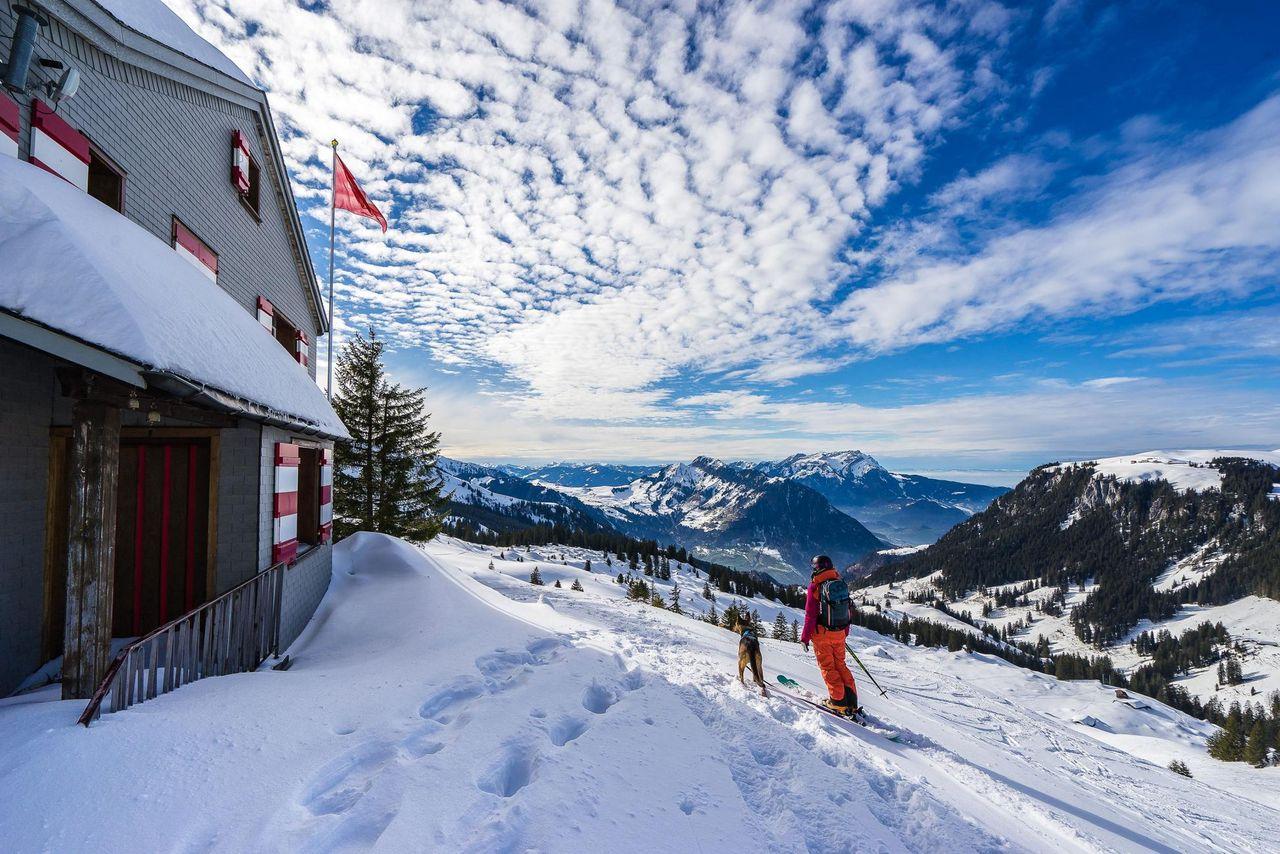 Ski tour to the Glatt Grat