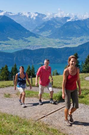 Hiking: Round trip Vierwaldstättersee (5 days), from CHF 585.-