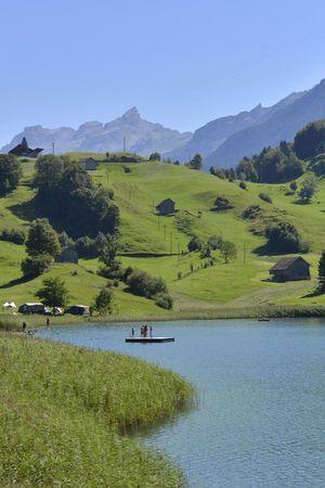 Naturbadi am Seelisberger Seeli