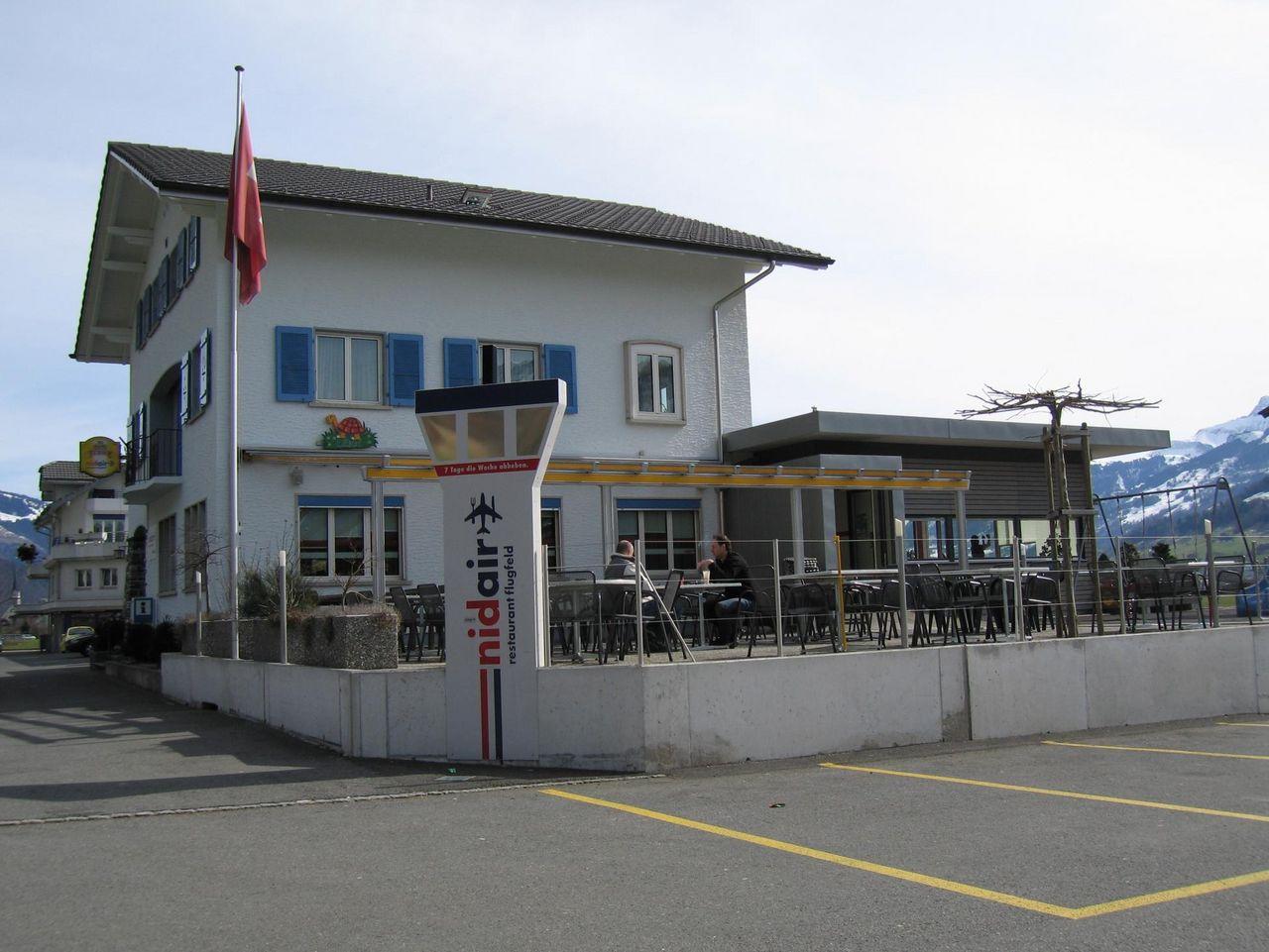 Nidair Restaurant Flugfeld, Ennetbürgen