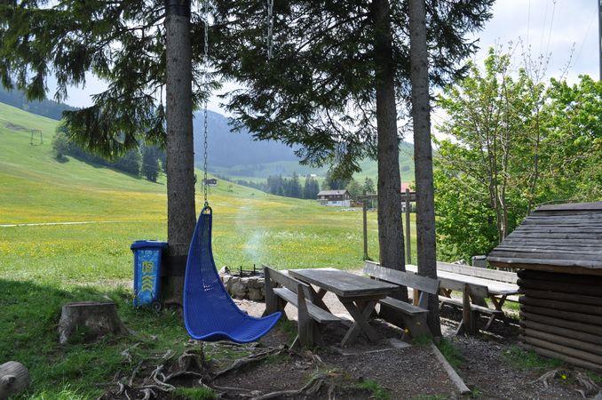 Eggwald Wirzweli barbecue spot, Dallenwil