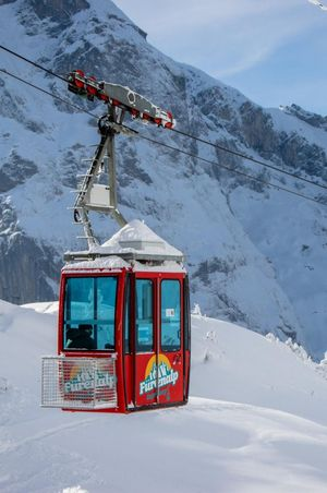 Cable car Engelberg - Fürenalp