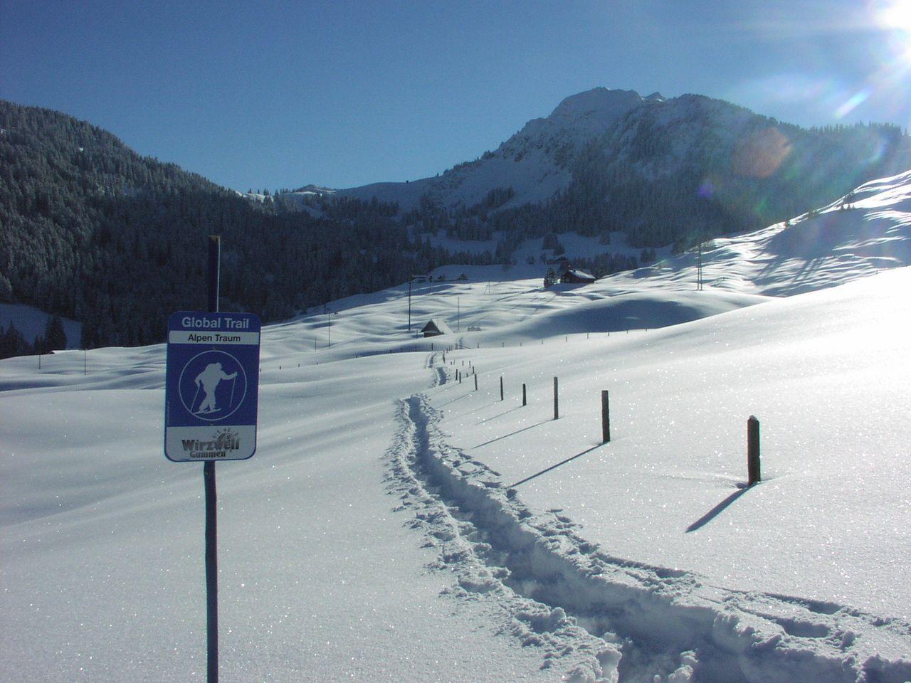 Snowshoeing and Winter walking Wirzweli