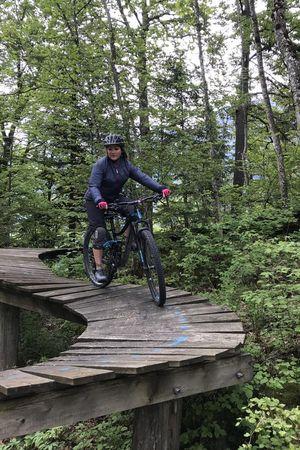 Wood Trail und Natural Bikepark