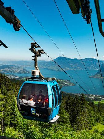Cable car Schnwandi - Alpgschwänd