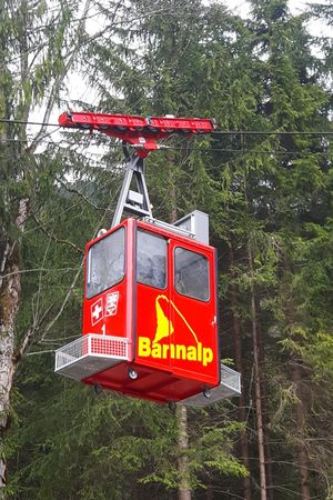 Cable car Fellboden - Bannalpsee