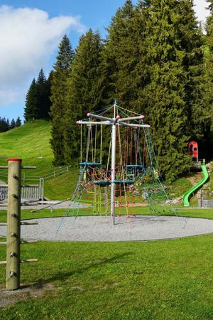 Playground Stockhütte upper terminus, Emmetten