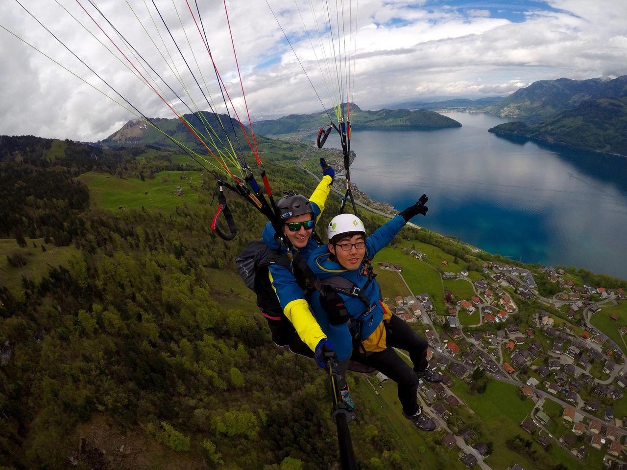 Paragliding tandem flights - SkyGlide
