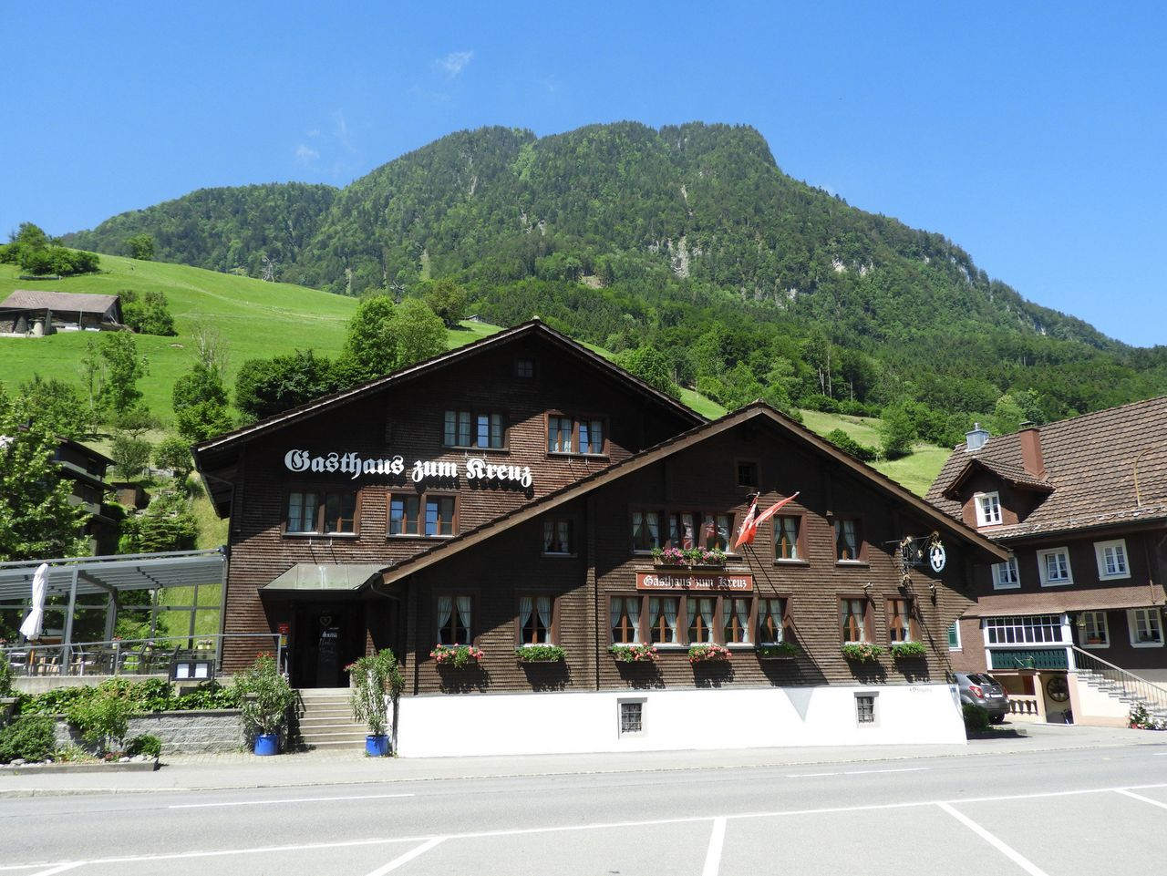 Gasthaus zum Kreuz, Dallenwil