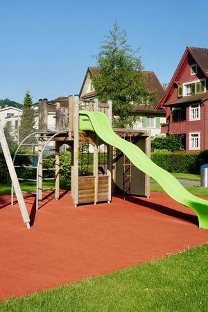 Playground Schulzentrum Pestalozzi (school), Stans