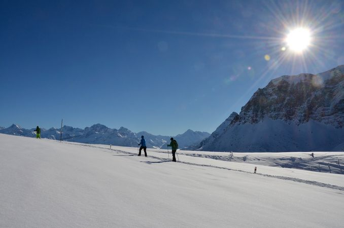 Schneeschuhtour Niederbauen - Niederbauen Chulm