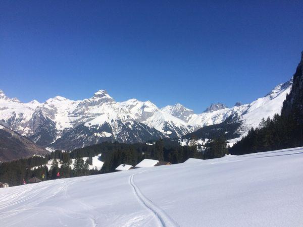 Snowshoetrail Gerschnialp-Untertrübsee