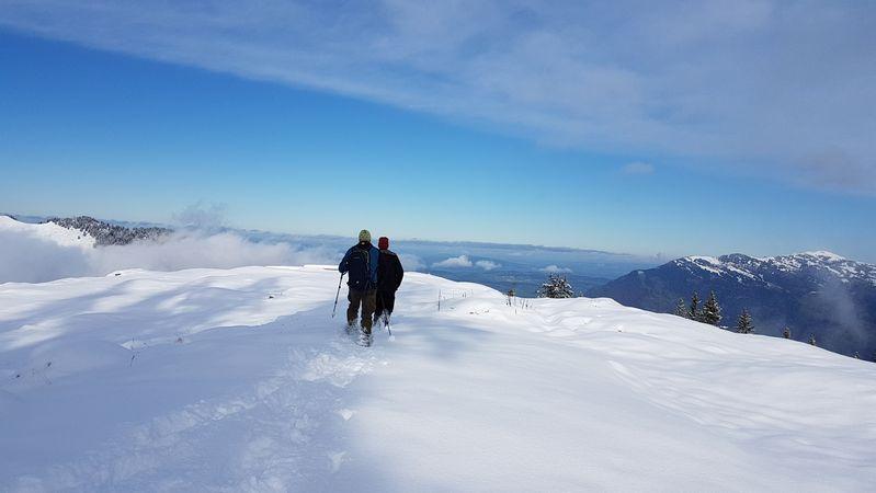 Schneeschuhtrail Brämegg