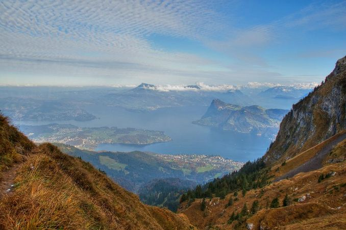 From Herigiswil to Pilatus