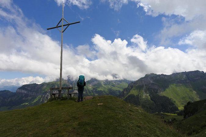 Alpenkranz 1. Etappe: Alpenwanderung Klewenalp - Isenthal
