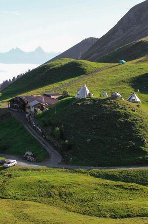 Tipi-Dorf Biel, Klewenalp