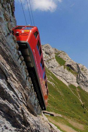Cogwheel railway Pilatus