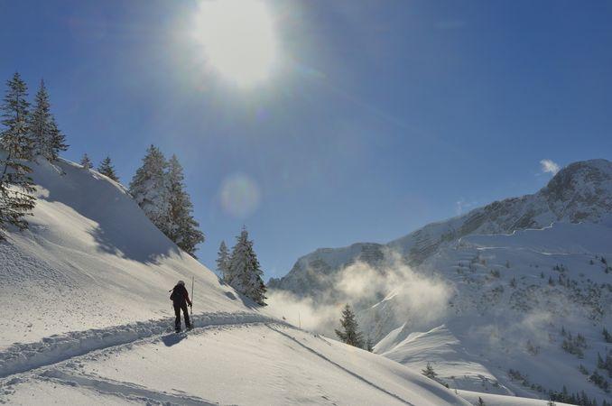 Schneeschuhtour Niederbauen - Hundschopf