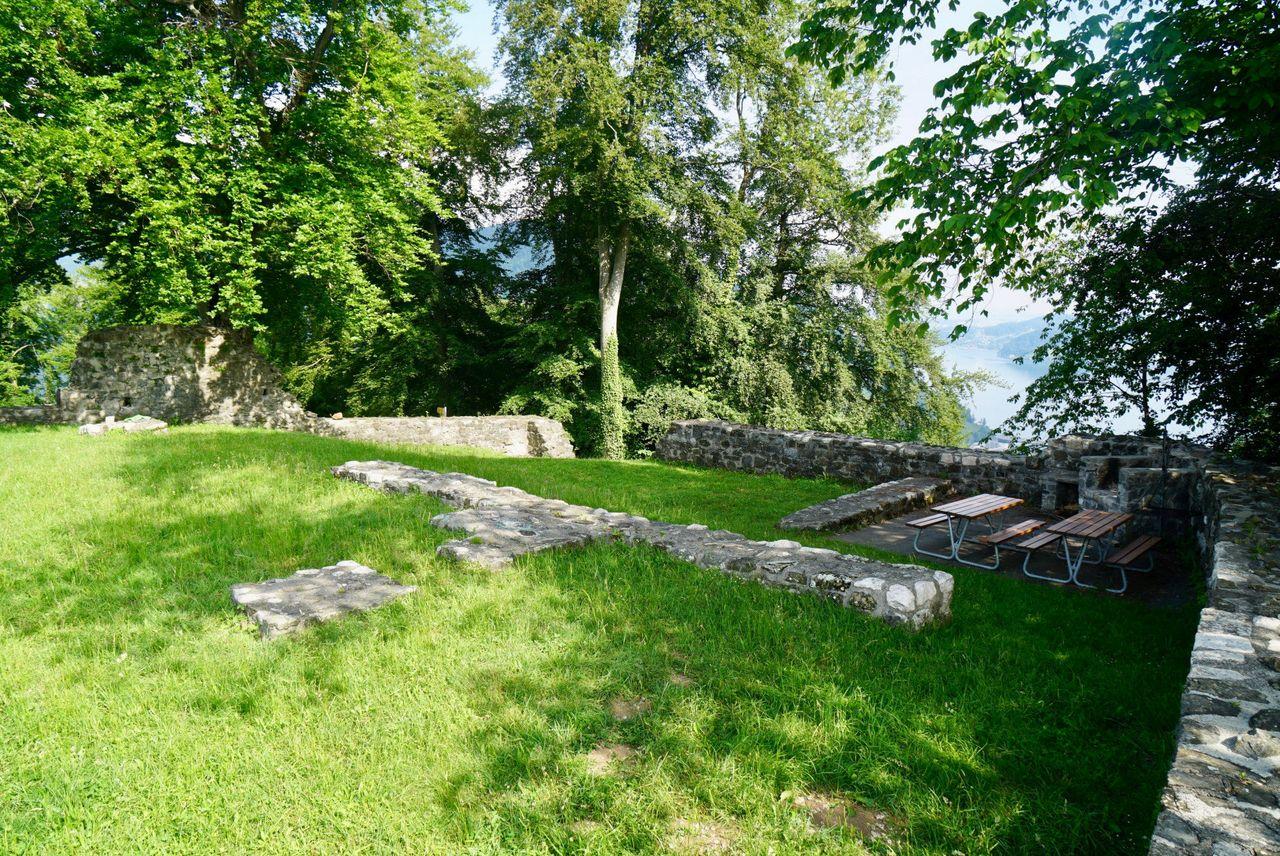 Spielplatz Burgruine Rotzberg, Ennetmoos
