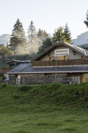 Alpkäserei Gerschnialp